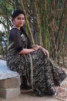 Tamil Actress Sri Priyanka Pos in Saree at Pichuva Kaththi Tamil Movie Audio Launch  0014.JPG