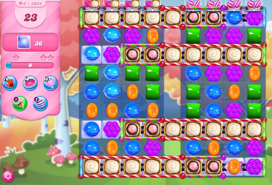 Candy Crush Saga level 5028