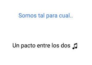 Thalía Un Pacto Entre los Dos significado de la canción.