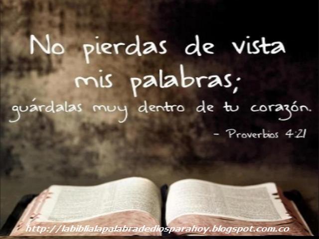 Citas biblicas de amistad-Proverbios 4 21