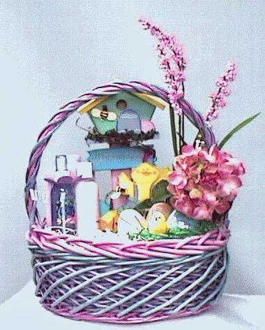 decoração de cestas