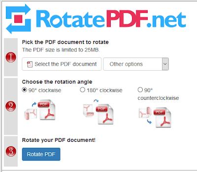 Come ruotare un pdf online
