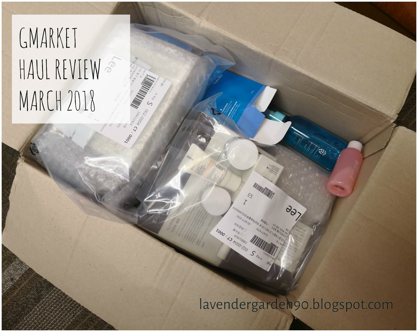 Carolyn's Lavender Garden: Beauty Haul Review: My Experience