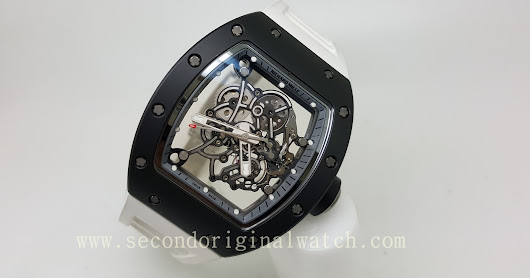 FOR SALE : RICHARD MILLE RM 055 BUBBA WATSON ASIA EDITION LTD EDITION 50PCS WITH LUCKY NUMBER LIMITED EDITION