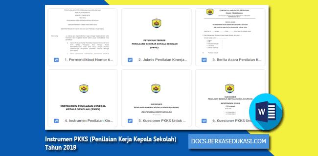 Instrumen PKKS (Penilaian Kerja Kepala Sekolah) Tahun 2019