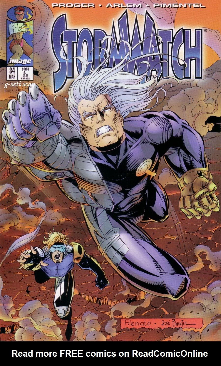 Stormwatch (1993) issue 34 - Page 1