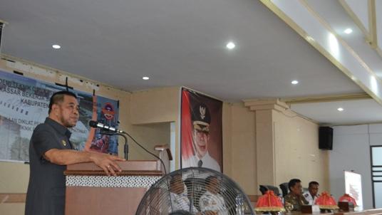 Wakil Bupati Buka Diklat Pemberdayaan Masyarakat, Teknik Pemadaman Api Kerjasama ATKP
