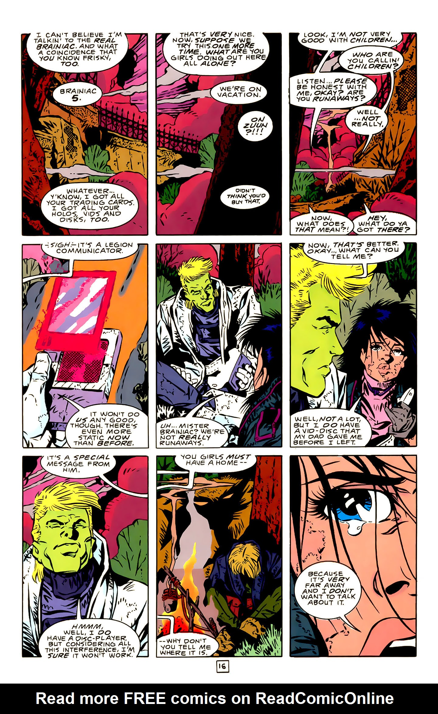 Legion of Super-Heroes (1989) 22 Page 16
