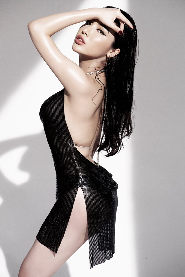 Top 25 Hoa hậu siêu Quốc gia Khánh Phương khoe đường cong hình chữ S trong bộ ảnh mới - Ảnh 4