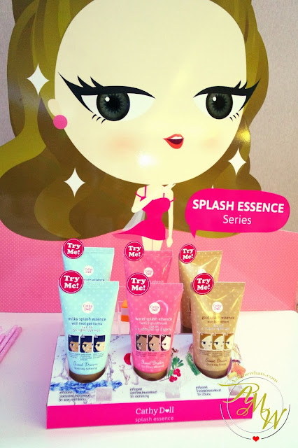 a photo of cathy doll Splash Essence Series