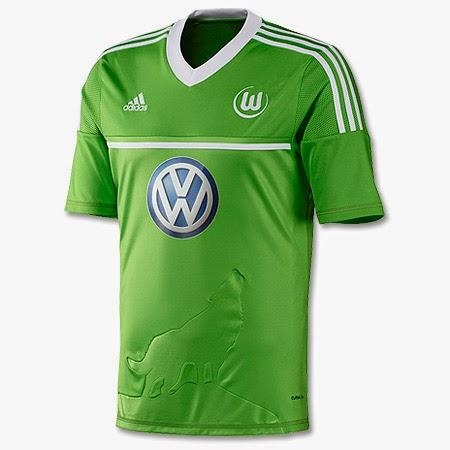 buy online c4833 fa895 Vfl Wolfsburg Kit 2012-2013   Historical Football Kits