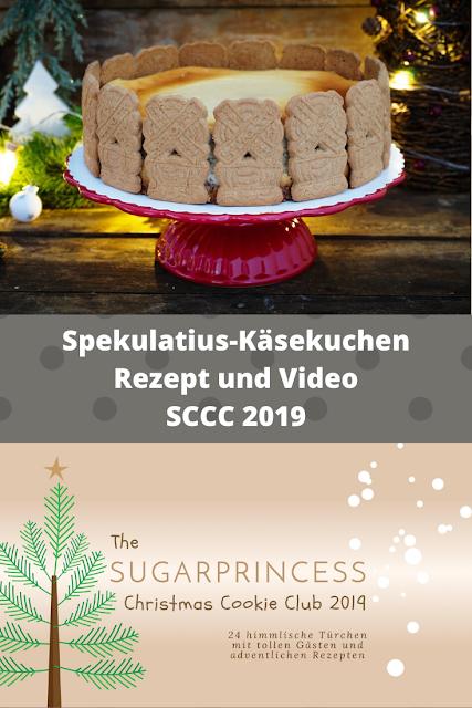 Spekulatius-Käsekuchen - Rezept und Video von Alexandras Food Lounge | SCCC 2019: Türchen Nr. 9 | Gewinnspiel