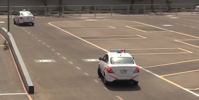 smart yard parking test dubai