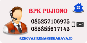 Pujiono Renovasi Rumah Surabaya