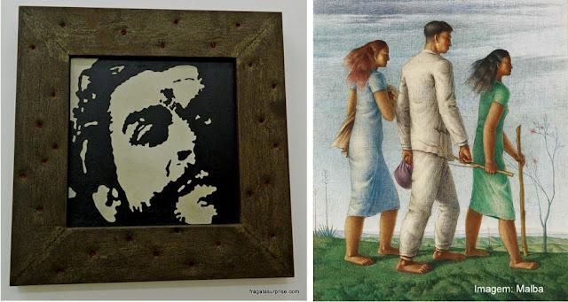 Obra de Claudio Tozzi e de Héctor Poleo no Museu de Arte Latino-Americana de Buenos Aires - Malba