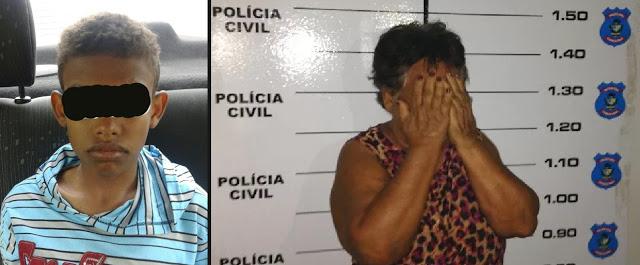 Mãe bate no filho ladrão e Conselho Tutelar pede a prisão da senhora.