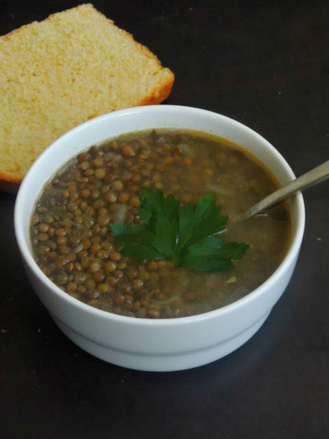 French Lentils soup
