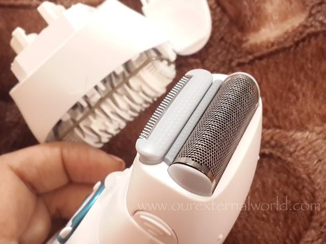 Braun Silk Epil 9 - Faster Epilation, shaving head, trimmer