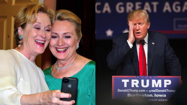 Trump chama Meryl Streep de 'amante de Hillary' em resposta a discurso no Globo de Ouro