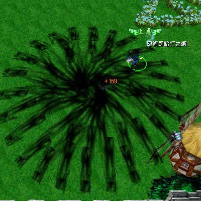 naruto castle defense 6.0 tobirama Infinite darkness jutsu
