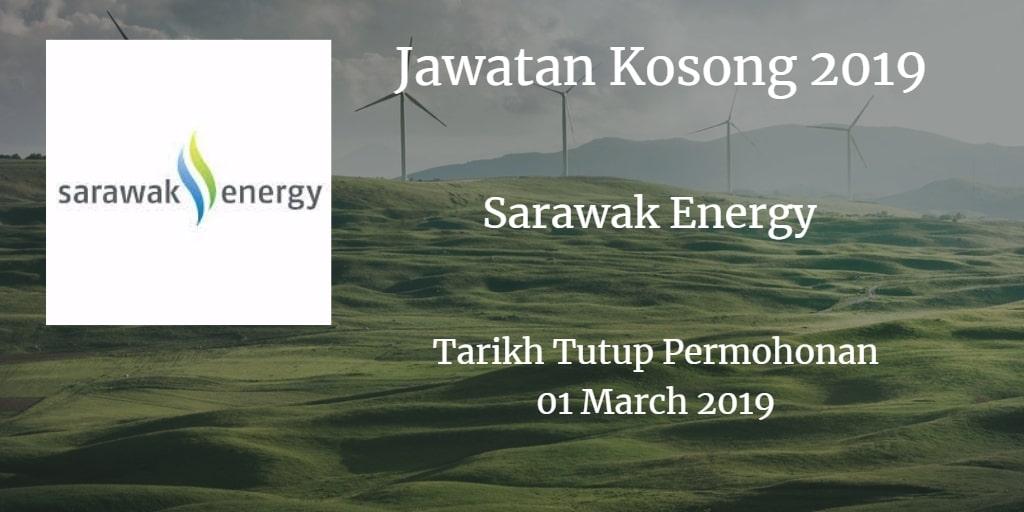 Jawatan Kosong Sarawak Energy 01 Marc 2019