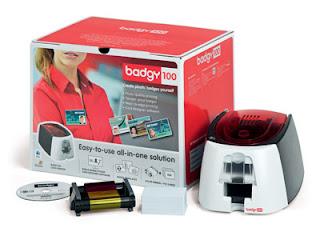 Impresora de tarjetas Evolis Badgy 100