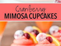 Cranberry Mimosa Cupcakes Recipe