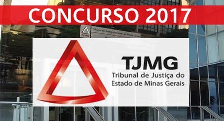 inscrição concurso TJ-MG 2017