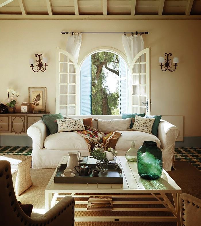 Interior Design For New Home: New Home Interior Design: Country House