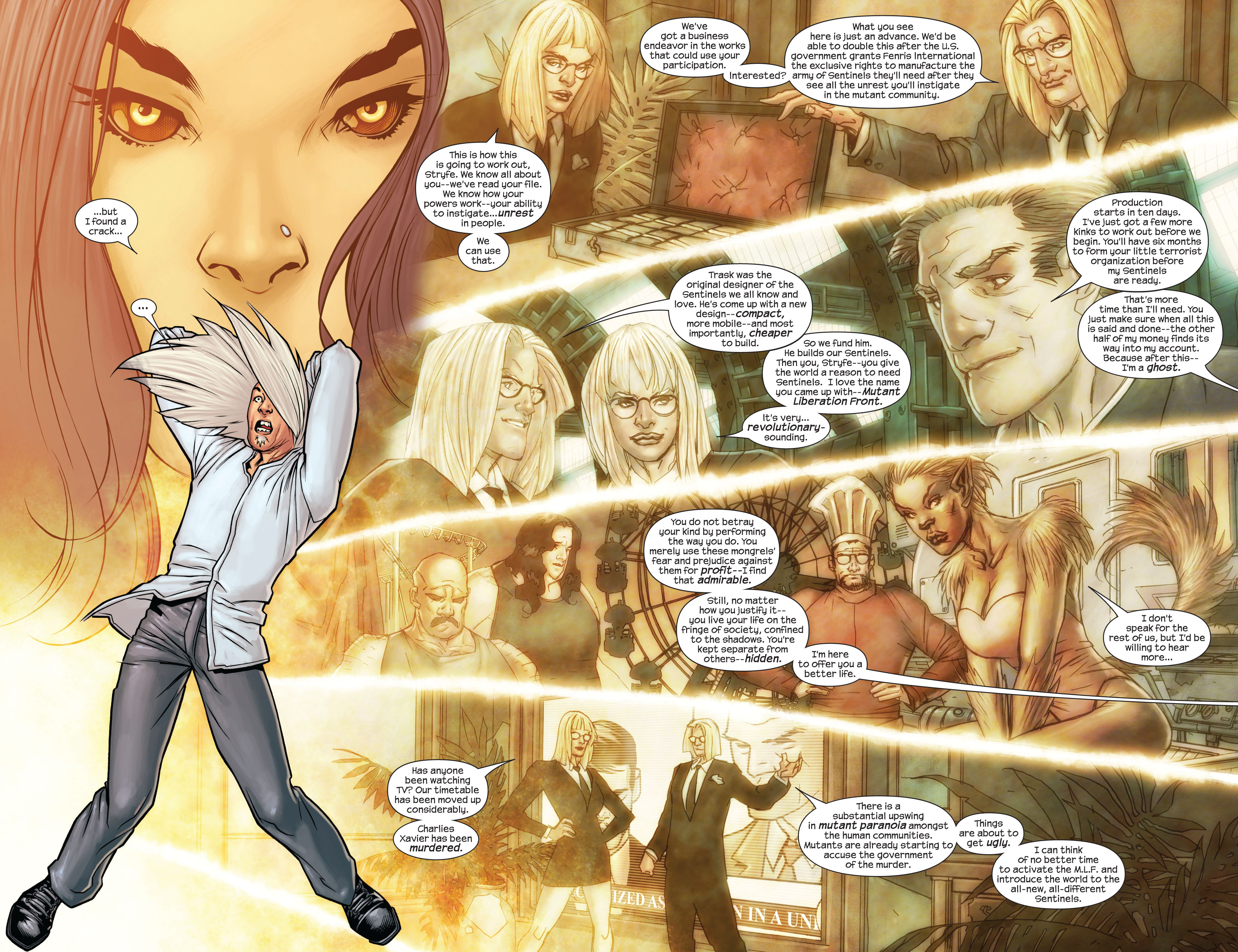Read online Ultimate X-Men comic -  Issue #87 - 9
