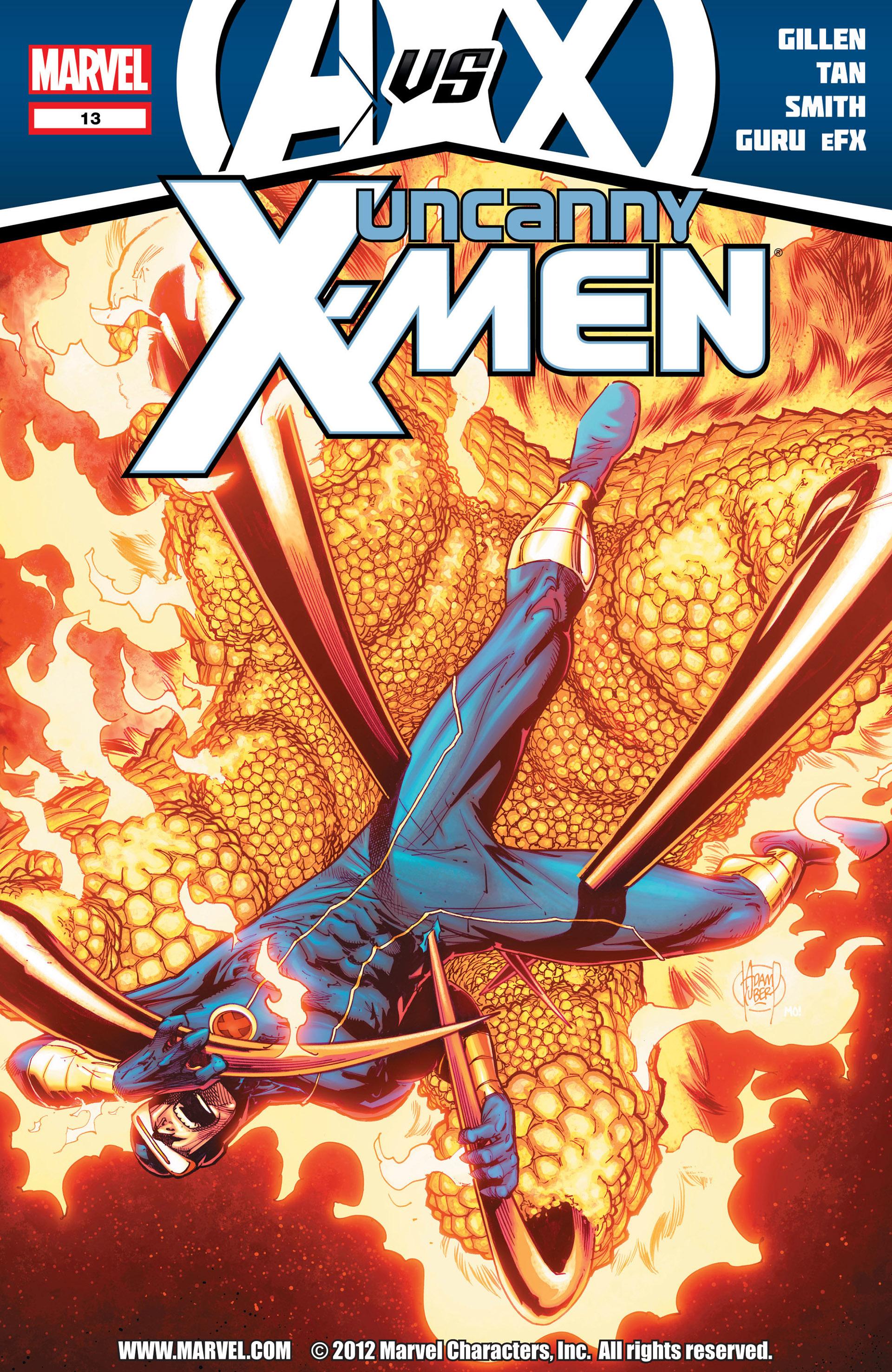 Uncanny X-Men (2012) 13 Page 1