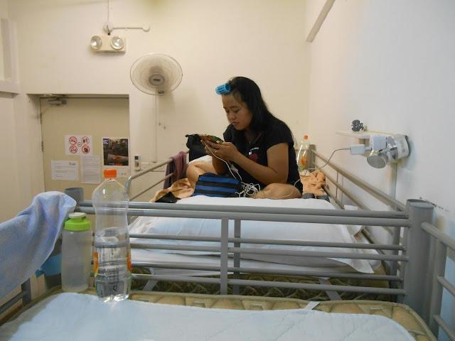 Kamar Tidur Footprints Hostel Singapore