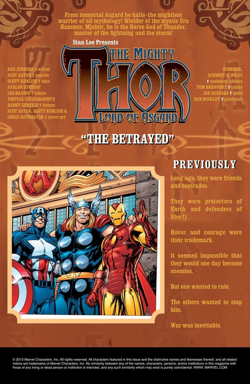 Thor (1998) Issue #73 #74 - English 2