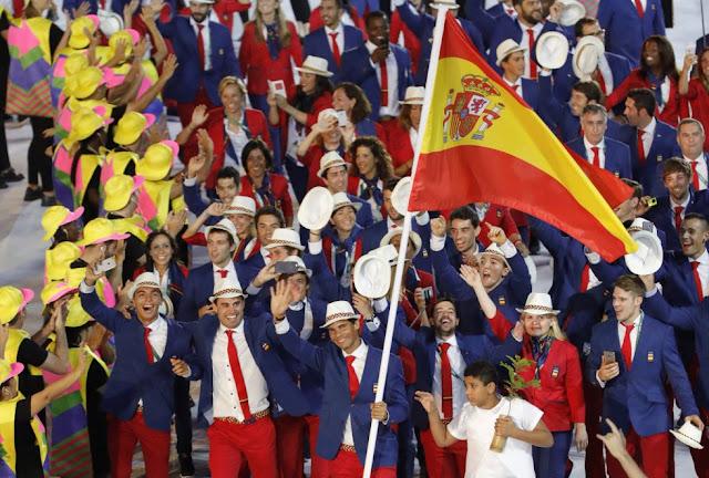 JUEGOS OLÍMPICOS - España se baña de oros y de diplomas en Río de Janeiro