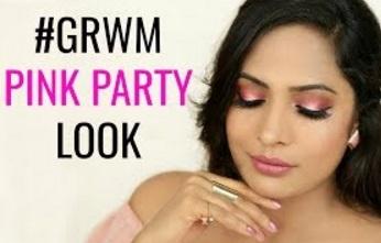 GRWM Pink Party Look – Indian Makeup Tutorial