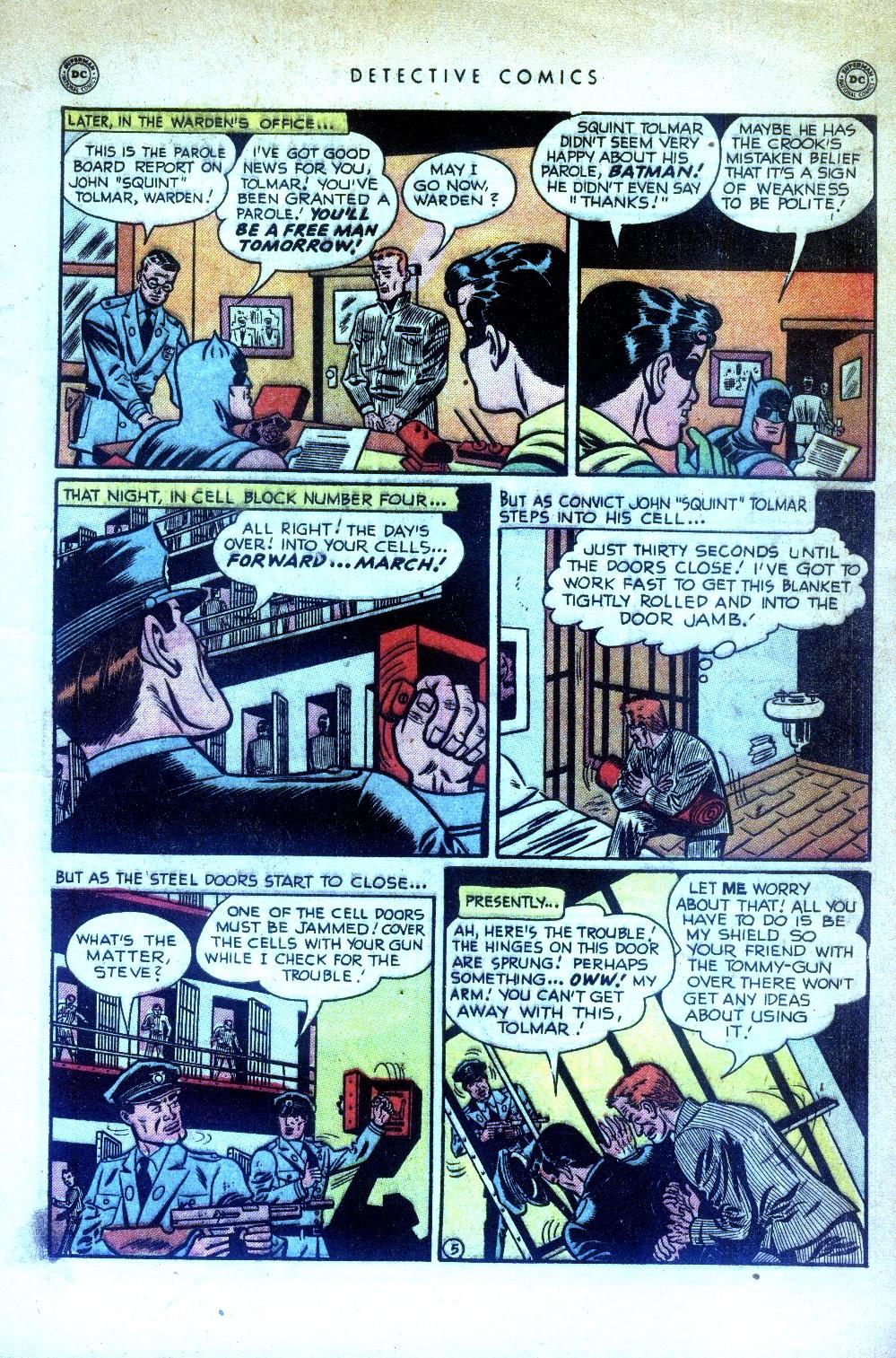 Read online Detective Comics (1937) comic -  Issue #169 - 7