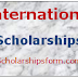 International Scholarship 2018 -19 UG/PG Scholarship Scheme