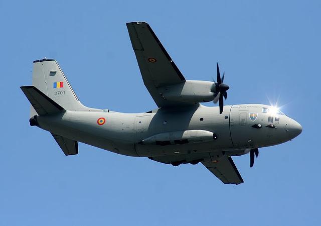 Gambar 4. Foto Pesawat Angkut Militer Alenia C-27J Spartan