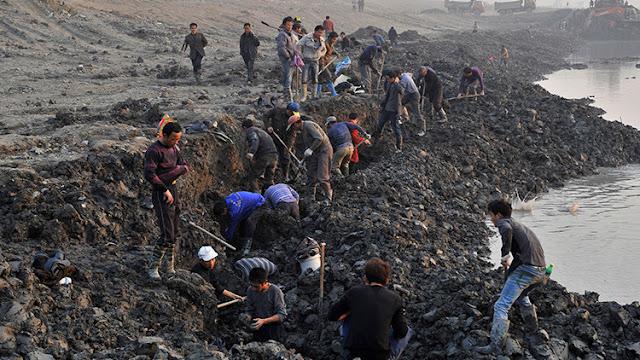 """Descubren en China los restos de unos """"gigantes"""" humanos de 5.000 años de antigüedad"""