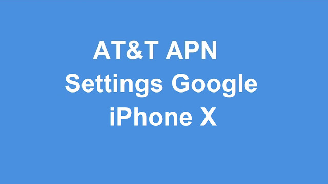 Apn iphone x