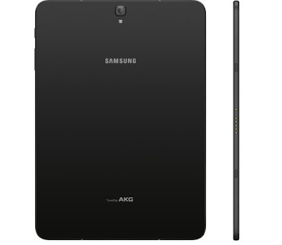 Back and Side view of Samsung Galaxy Tab S3