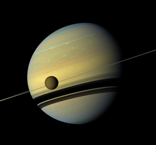 Consilience Beautiful Nasa' Cassini Saturn Probe