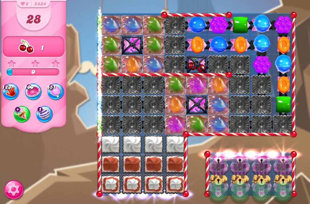 Candy Crush Saga level 5434