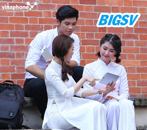Đăng ký gói 3G BIGSV Vinaphone