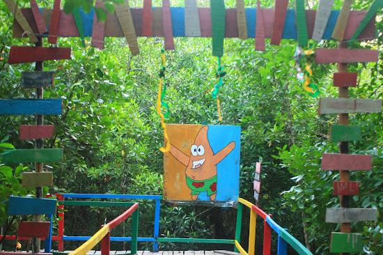 Pemandangan Mangrove Park bakau Besar 4 - Catatan Nizwar ID