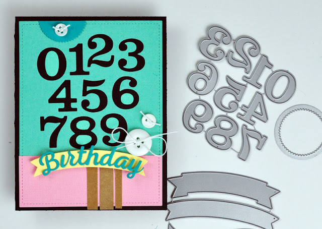 Die cut birthday card by www.jengallacher.com for SCT Magazine. #diecutting #echoparkpaper #birthdaycard #cardvideo
