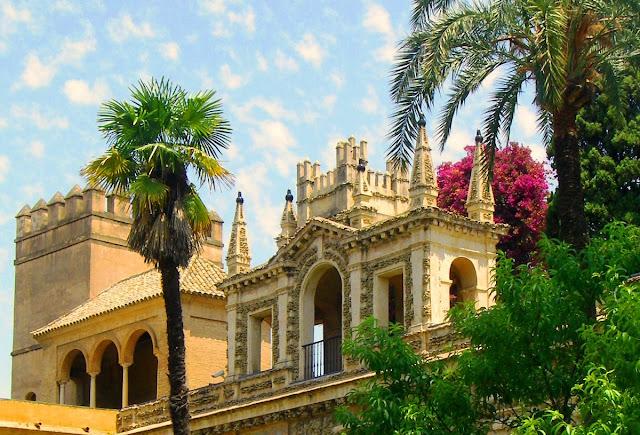 Alcazar i Sevilla