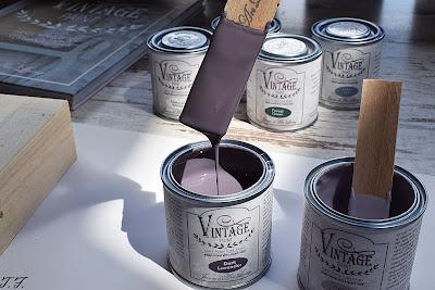 lavender Kreidefarbe