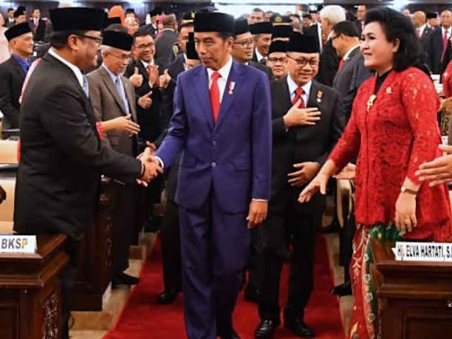Hadiri Sidang Tahunan MPR, Jokowi Minta Rakyat Indonesia Lanjutkan Perjuangan