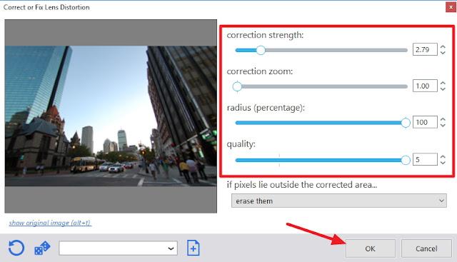 Cara Menghilangkan Efek Lengkung Fisheye Lens, Cara Menghilangkan Foto Cembung Fisheye, Memperbaiki Foto Fisheye, Membuat Foto Fisheye, Menghilangkan Efek Lensa Cembung, Efek Lensa Fisheye,